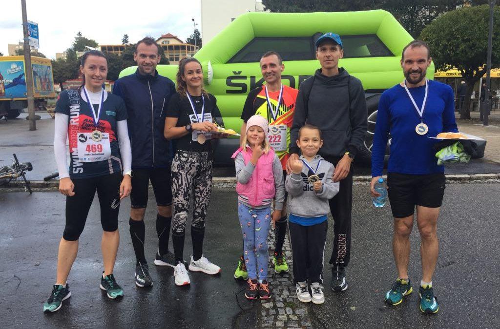 Smršť osobních rekordů na Blanenském půlmaratonu